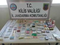 4 Bin 117 Adet Tıbbi İlaç Yakalandı
