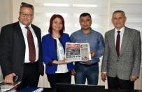 FAZLA MESAİ - AGC'den 'Kentte Yaşam' Gazetesine Ziyaret