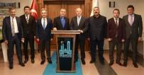 NACI BOSTANCı - Ak Parti Grup Başkan Vekili Bostancı Başkan Sekmen'i Ziyaret Etti