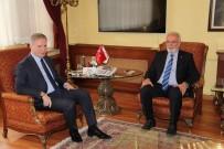 DAVUT GÜL - AK Parti Grup Başkanvekili Elitaş'tan, Vali Gül'e Ziyaret