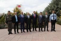VECDI GÖNÜL - Başkan Duruay'dan Türksat'a Ziyaret
