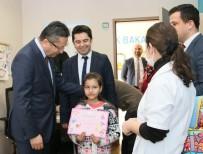 Başkan Tiryaki'den Diş Hastanesine Ziyaret