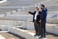 Başkan Uysal Amfi Tiyatro Çalışmalarını İnceledi