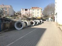 ÇÖMLEKÇI - Biga'da Altyapı Çalışmaları...