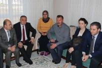 ŞEHİT ASKER - Bolu Belediye Başkanı Yılmaz'dan Şehit Ve Gazi Yakınlarını Ziyaret Etti