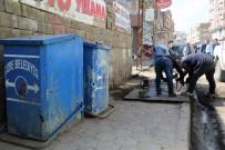 ÇÖP KUTUSU - Cizre Belediyesi'nde Temizlik Ve Hijyen Çalışması