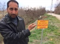 KARANTINA - Elazığ'da Bir Köyde Kuduz Karantinası