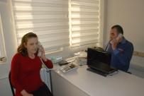 ÇÖMLEKÇI - Görme Engelli Santral Memurlarının Çalışma Azmi