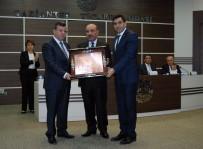 DİSİPLİN KURULU - GTO'dan 21 Yıl Yönetim Kurulu Başkanlığı Yapan Aslan'a Onur Ödülü