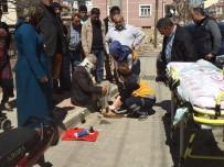 Karaman'da Otomobilin Çarptığı Motosikletli Yaşlı Adam Yaralandı