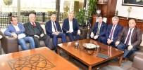 NAMIK HAVUTÇA - Muharrem İnce'den Miting Öncesi Kocaoğlu'na Ziyaret