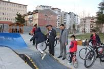 Seydişehir Belediyesinden Gençlere Parkur