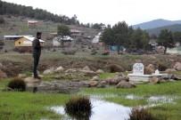 52 Yıllık Mezar Baraj Sularının İçinde Kaldı