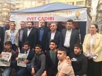 MEHMET MEHDİ EKER - AK Parti Yenişehir İlçe Başkanlığı 'Evet Çadırı' Kurdu