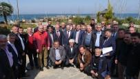 Başkan Gümrükçüoğlu Çarşıbaşı'daki Çalışmaları Muhtarlarla Değerlendirdi