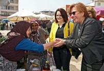 PAZARCI - Başkan Pekdaş'tan Torbalı'da 'Hayır' Turu