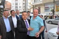 SERKAN YILDIRIM - Başkan Yağcı'dan Esnaf Ziyareti