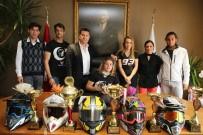 BELEDİYE ÇALIŞANI - Bodrum Halikarnas Motor Sporları Kulübü'nden Ziyaret