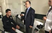 AHMET ALTIPARMAK - Denizli Valisi Altıparmak, Yaralı Polisleri Ziyaret Etti