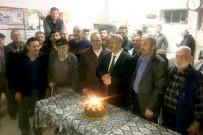 Dutluca' Da Başkan Uysal'a Pastalı Kutlama