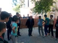 NAMIK KEMAL NAZLI - Gömeç'te Kaymakam Nazlı Kırsal Mahallelere Yönelik Ziyaretlerini Sürdürüyor