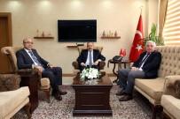 KGK Kurul Üyesi Polat Ve AYÜ Genel Sekreteri Zengin, Vali İsmail Ustaoğlu'nu Ziyaret Etti