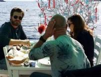 BAŞAK DİZER - Kıvanç Tatlıtuğ-Başak Dizer çifti tatil sezonunu açtı