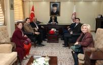 Kızılay Heyetinden Vali  Ustaoğlu'na Ziyaret