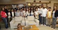 İŞARET DİLİ - Öğrenciler Başkan Tarhan'a Projelerini Anlattı