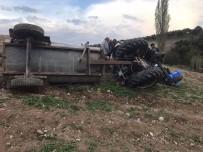 BÜYÜKBELEN - Saruhanlı'da Traktör Kazası Açıklaması 1 Ölü