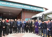 TUZLA BELEDİYESİ - Tuzla Belediyesinden Van'ın Saray Ve Özalp İlçelerine 'Kardeşlik Köprüsü'