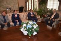 Vali Güvençer, Erbakan Vakfı Ve Tarım İşçileri Taşıyıcılar Derneğini Ağırladı
