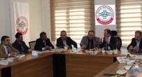 YARI BAŞKANLIK - Yavilioğlu Erzurum'lu İş Adamları İle Buluştu.