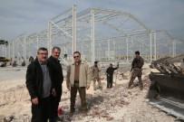 SOĞUK HAVA DEPOSU - AFAD Suriye Sınırına Dev Lojistik Depo Kuruyor