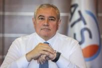 KREDİ KAYIT BÜROSU - ATSO  Başkanı Davut Çetin  Açıklaması