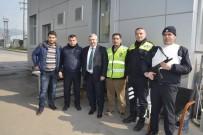 POLİS NOKTASI - Başkan Baran, Polis Ve Vatandaşlarla Buluştu