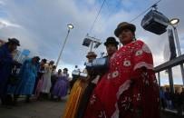 TELEFERIK - Bolivya'da İki Şehir Arasına Teleferik Hattı Çekildi