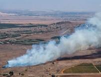 AMANOS DAĞLARI - Suriye rejimine ait uçak Hatay'a düştü