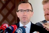 MUSTAFA AKINCI - KKTC Cumhurbaşkanı Akıncı, BM Genel Sekreteri Kıbrıs Özel Danışmanı Eide İle Görüştü