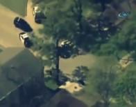HOUSTON - Saldırgana Böyle Karşı Koydu