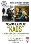 AKARÇAY - 'Yaşayan Kadınlar Açıklaması Kaos' Fotoğraf Sergisi