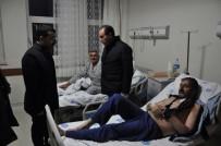 AK Parti Kars İl Başkan Çalkın, Hastaneye Anlamlı Ziyaret