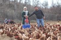 Atanamayan Eşine Destek Olmak İstedi Açıklaması Tavuk Çiftliği Kurdu