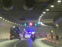 ABDI İPEKÇI SPOR SALONU - Cumhurbaşkanı Erdoğan, Avrasya Tüneli'ni kullandı