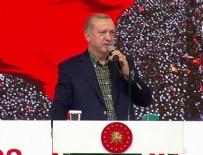 Cumhurbaşkanı Erdoğan: Kapıdan sokmadığınız zaman dünyayı ayağa kaldırırım