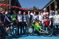 DİYARBAKIR EMNİYET MÜDÜRLÜĞÜ - Sağlıklı Yaşam İçin Pedal Çevirdiler