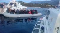 KUZEY EGE - Sahil Güvenlik Komutanlığı 1 Haftada 230 Göçmeni Yakaladı