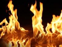 YANGıN YERI - Sakarya Adapazarı'nda yangın