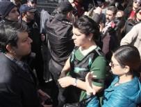 İZİNSİZ YÜRÜYÜŞ - Şanlıurfa'da izinsiz yürüyüşe müdahale: 21 gözaltı