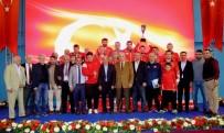 OSMAN YıLDıRıM - Vehbi Emre & Hamit Kaplan Güreş Turnuvası'nda Şampiyon Türkiye
